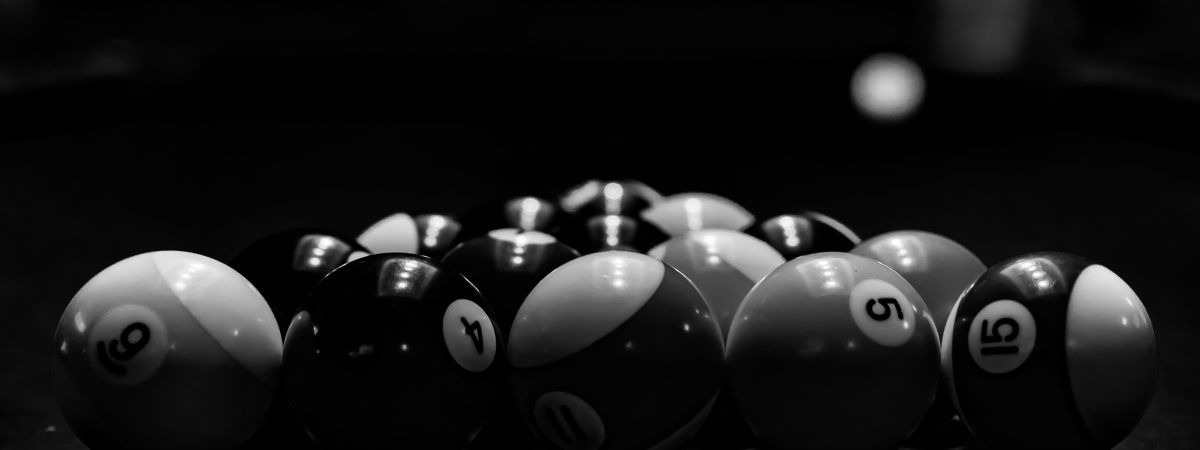 Balls Racked and Ready to be Broken